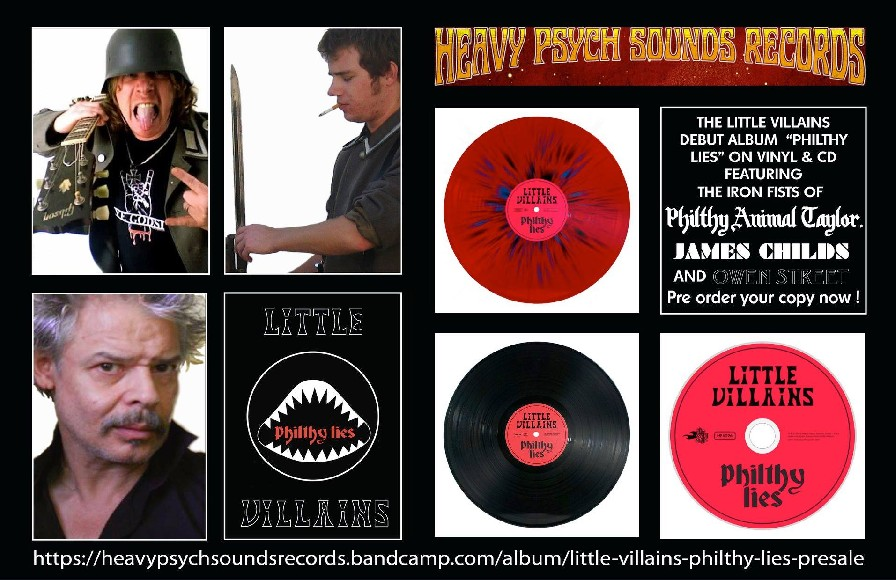 Philthy Lies album by Little Villains