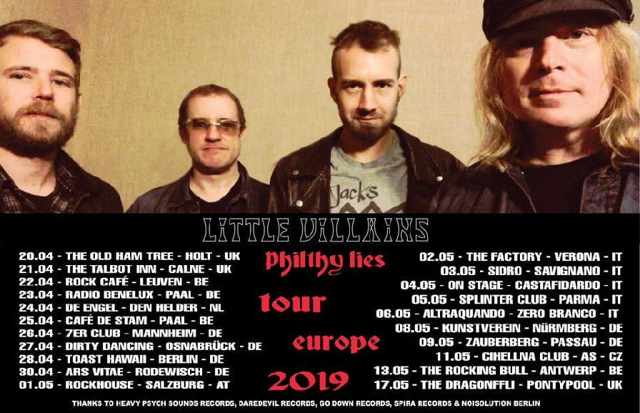 Little Villains Philthy Lies Tour 2019